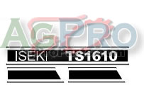 HOOD DECAL SET TS1610